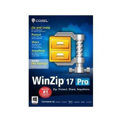 Corel WinZip 17 Pro, EDU, 1Y, 100-199U, ML Software licentie