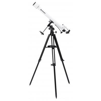 Bresser optics telescoop: CLASSIC 60/900 EQ - Zwart, Wit