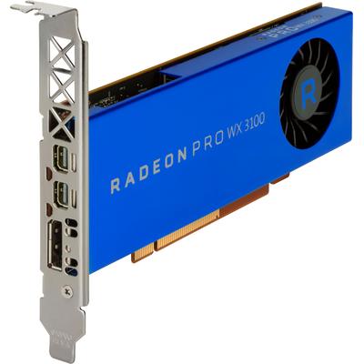 HP AMD Radeon Pro WX 3100 4-GB grafische kaart Videokaart