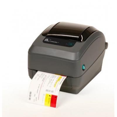 Zebra labelprinter: GX430t - Zwart, Grijs