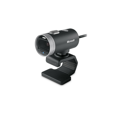 Microsoft webcam: LifeCam Cinema - Zwart, Zilver