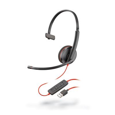 POLY Blackwire 3210 Headset - Zwart