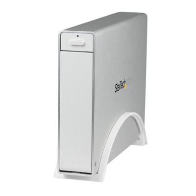 """Startech.com behuizing: USB 3.0 trayless externe 3,5"""" SATA HDD-behuizing met UASP voor 3,5"""" harde schijven wit"""