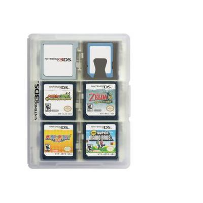Hori : 3DS Game Card Case 24 (Clear) - Transparant