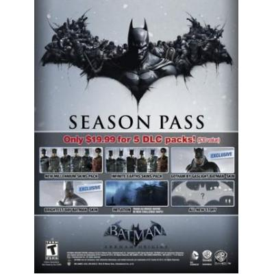 Warner bros : Batman: Arkham Origins - Season Pass, PC