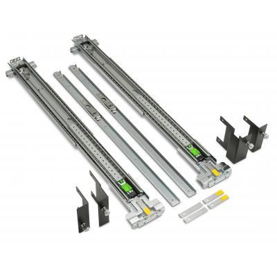 Hp rack toebehoren: z6/8 verstelbare railskit voor vlakke rackmontage