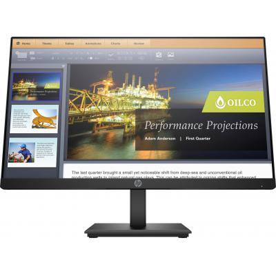 """HP ProDisplay P224 21,5"""" Full HD VA Monitor - Zwart"""