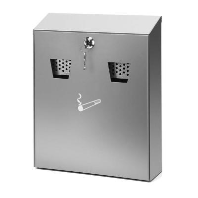 Vepa bins vuilnisbak: VB 043750 - Roestvrijstaal