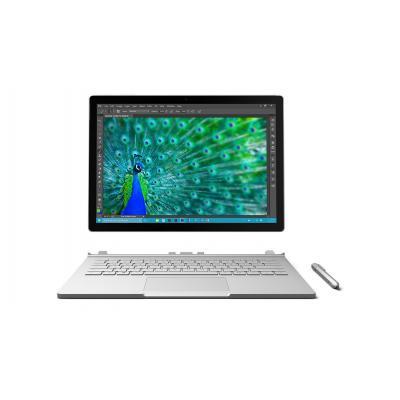 Microsoft laptop: Surface Book US model met US adapter - Zilver
