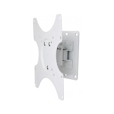 Techly Wall Support for LCD LED 19-37' Tiltable 1 Joint White Montagehaak - Wit