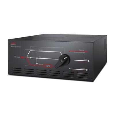 APC Service Bypass Panel 230V 125A HW input IEC-320 output (8) C19 Power supply unit - Zwart