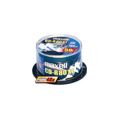 Maxell CD: CD-R 80XL 48x 50pk Spindle
