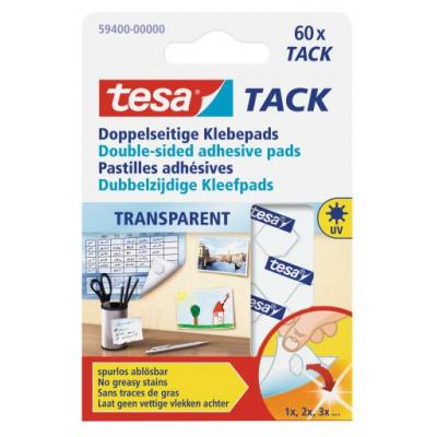 Tesa plakband: TACK - Transparant