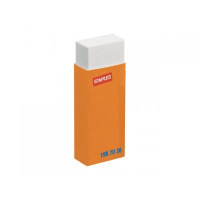 Staples kantoorartikelen: Gum SPLS groot 61x22x10 wit/doos 20