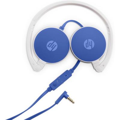 HP H2800 Headset - Blauw
