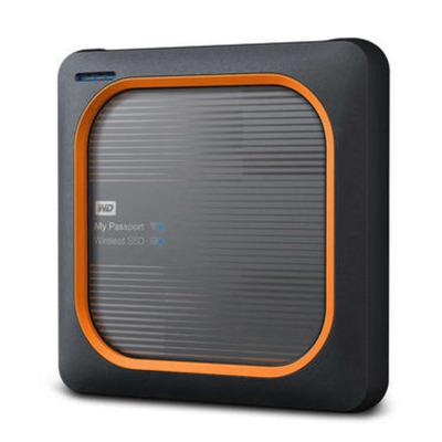 Western Digital My Passport Wireless - Zwart, Oranje