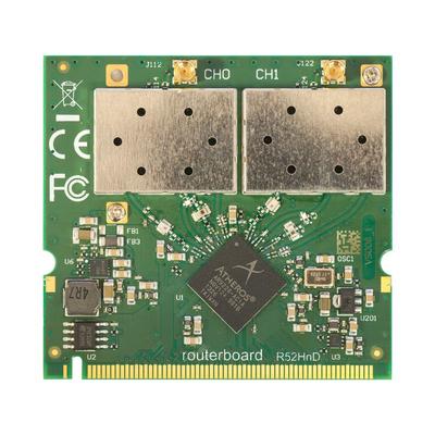 Mikrotik R52HND Netwerkkaart - Groen