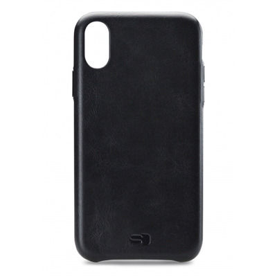 SENZA Senza Pure Leather Cover Apple iPhone XR Deep Black
