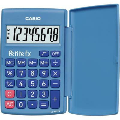 Casio calculator: Rekenmachine Petit-FX Blauw