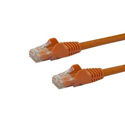 StarTech.com Cat6 met snagless RJ45 connectoren UTP patchkabel oranje 0,5m Netwerkkabel