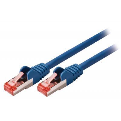 Valueline netwerkkabel: CAT6 S/FTP, RJ45 (8P8C) Male - RJ45 (8P8C) Male, 3m, Blue