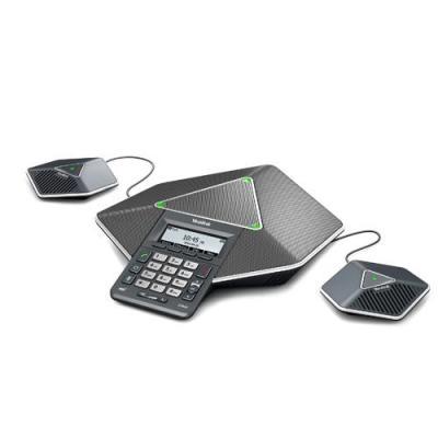Yealink ip telefoon: LCD (192 x 64), LAN, IPv4/IPv6 - Zwart