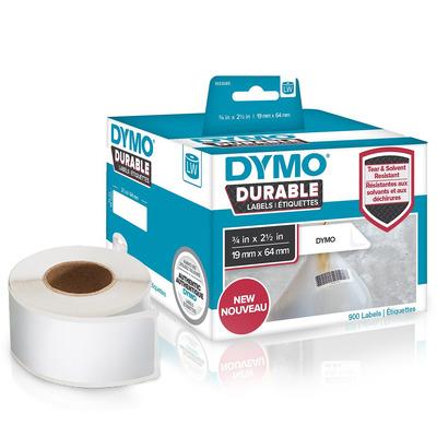 DYMO LW - LW Durable Labels - 19 x 64 mm - 1933085 Etiket - Wit