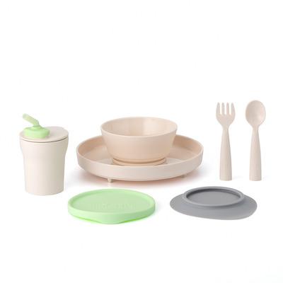 Miniware Little Foodie Set - Grijs,Limoen,Vanillekleur