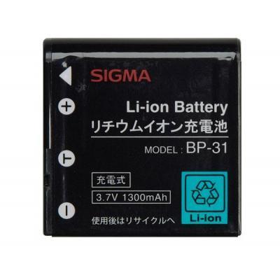 Sigma Lithium-ion Battery BP-31 - Zwart