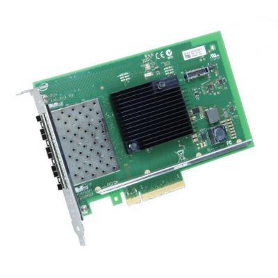 Intel netwerkkaart: X710-DA4 - Zwart, Groen