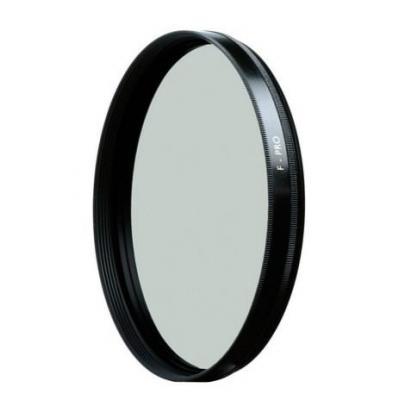 B&w camera filter: 105 mm MRC - Zwart