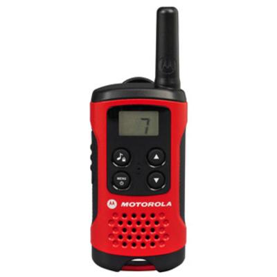 Motorola T40 Walkie Talkie Walkie-talkie - Zwart, Rood