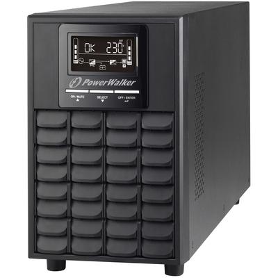 PowerWalker VFI 1000 CG PF1 UPS - Zwart