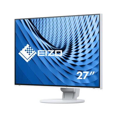 """EIZO FlexScan 27"""" IPS LED Monitor - Wit"""