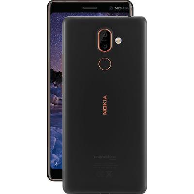 Nokia smartphone: 7 plus - Zwart, Koper 64GB