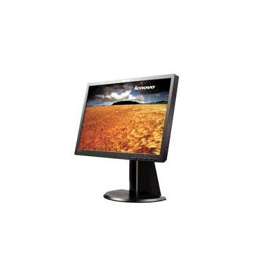 Lenovo monitor: Flat Panel Performance ThinkVision L2240p - Zwart (Refurbished LG)