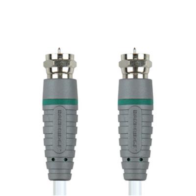 Bandridge coax kabel: Satteliet Kabel 10.0 m - Blauw