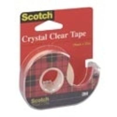 Scotch Crystal Clear (3 rollen) Plakband