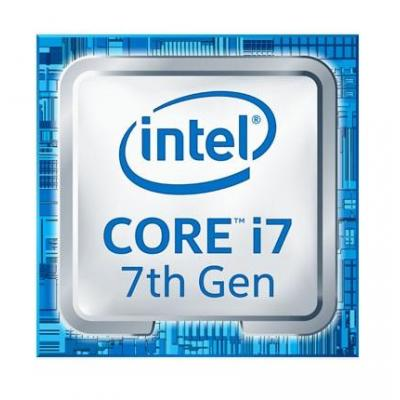 Intel processor: Core Intel® Core™ i7-7700 Processor (8M Cache, up to 4.20 GHz)