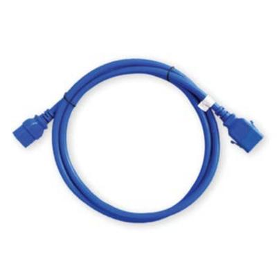 Raritan Pack of 6 SecureLock locking cables, 16AWG, 1 x IEC C-14, 1 x IEC C-15, 0.5m Electriciteitssnoer - Blauw