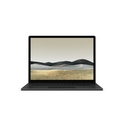 "Microsoft Surface Laptop 3 15"" i7 16GB 512SSD Black/Aluminium - QWERTY Laptop - Zwart"