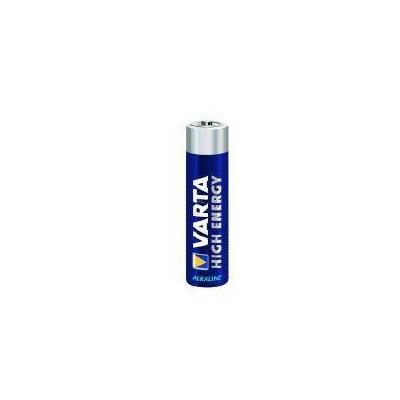 Varta batterij: 1x8 High Energy AAA LR 03 - Blauw
