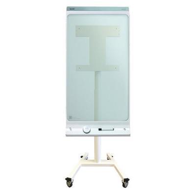 "Newstar TV standaard: Mobile Floor Stand for a 42"" Smartkapp (15 degree tilt) - White - Wit"