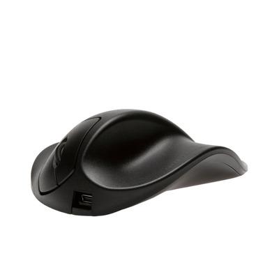 Hippus HandShoeMouse USB - Small - Linkshandig Computermuis - Zwart