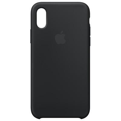 Apple mobile phone case: Siliconenhoesje voor iPhone XS - Zwart