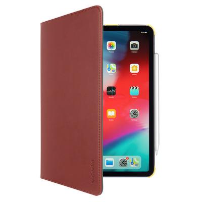 Gecko Easy-Click Tablet case - Bruin, Geel