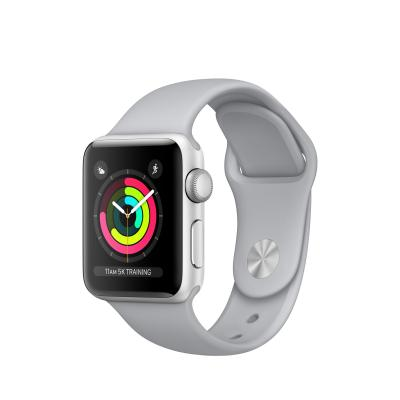 Apple smartwatch: Watch Series 3 Silver Aluminium 38mm (Approved Selection Budget Refurbished)