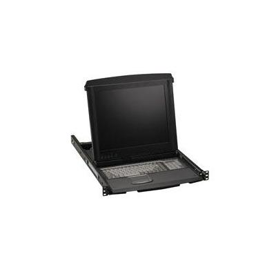 Black Box ServView V Rack console - Zwart