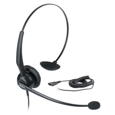 Yealink headset: YHS32 - Zwart