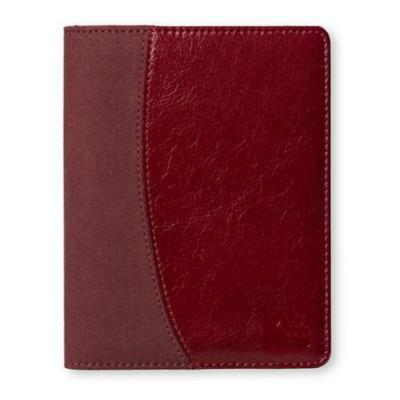 Gecko e-book reader case: Leather Protection Cover f / Kobo Aura, Dark Red - Rood